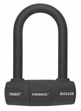 Trimax MAX60X TRIMAX Multipurpose Keyed Mini-U-Lock Extended Shackle 5 1/4""