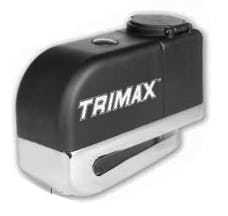 Trimax TAL7PB TRIMAX-Alarmed Disc Lock with Pouch & Reminder Cable Push Button Activated