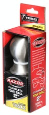 """Trimax TBSX2 2"""" Tow Ball Stainless Steel"""
