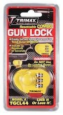 Trimax TGCL44 TRIMAX-Max-Security Combo Gun Lock, Single Pack
