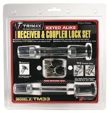 """Trimax TM33 TRIMAX T3 - 5/8"""" Receiver & TC3 - 3-1/2"""" Span Coupler Lock"""