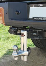 """Trimax TRZ6SX 6"""" 100% Stainless Steel Adjustable Drop Hitch"""