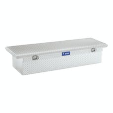 "UWS TBS-63-LP 63"" Aluminum Single Lid Crossover Toolbox Low Profile"