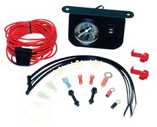 VIAIR 10061 Illuminated Dash Panel Gauge Kit 20 Amp