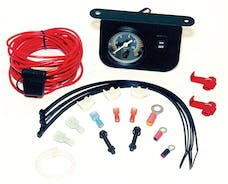 VIAIR 20062 Illuminated Dash Panel Gauge Kit 30 Amp