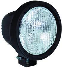 "Vision X 4000506 5.5"" Round Black 100 Watt Tungsten Euro Beam Lamp"