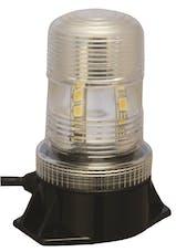 """Vision X 4001831 5.25"""" Utility Market LED Strobe Beacon White"""
