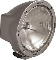 """Vision X 4002906 6.7"""" Round 35 Watt HID Euro Beam Lamp"""
