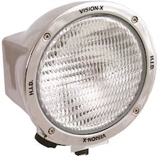 "Vision X 4003347 6.7"" Round 35 Watt HID Flood Beam Lamp"