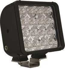"Vision X 4007444 6"" Xmitter Double Bar Black 16 3W LED Flood"
