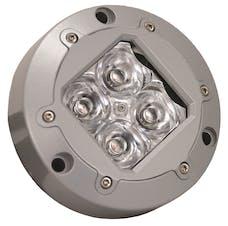 Vision X 4008700 4.13in. SUBAQUA LED LIGHT 4 GREEN 3W LEDS 10deg. NARROW