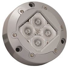 Vision X 4008717 4.13in. SUBAQUA LED LIGHT 4 GREEN 3W LEDS 40deg. WIDE