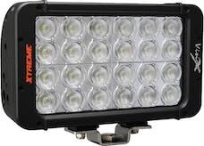 """Vision X 9116051 8"""" Xmitter Prime DBL Stack LED Bar Blk 24 5-Watt LED's 40 deg Wide"""