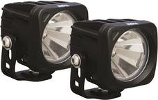 Vision X 9137926 Optimus Series Prime Square Black 1 10w LED 60° Flood Kit Of 2 Lights