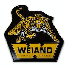 Weiand 10009WND SIGN, WEIAND TIGER - METAL