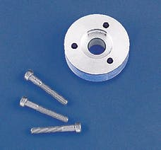 Weiand 90683 PULLEY SPCR KIT 3 BLT DM
