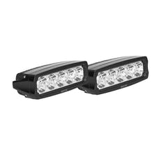WESTiN Automotive 09-12232-PR EF LED Light Bar Single Row 5.5 inch Flex with 3W Epistar (Set of 2)