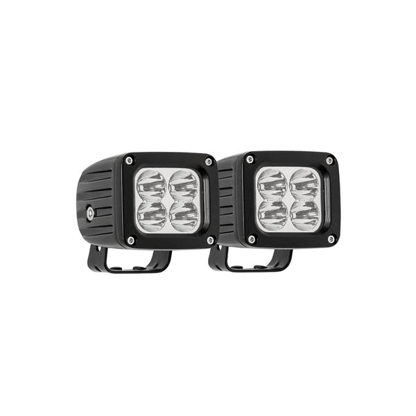 WESTiN Automotive 09-12252A-PR Quadrant LED Auxiliary Light Black