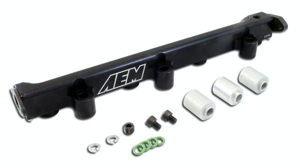 AEM 25-130BK Hi Vol Fuel Rail