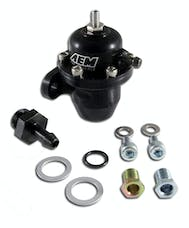 AEM 25-300BK Adj Fuel Press Reg