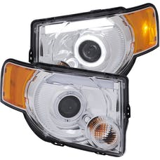 AnzoUSA 111356 Projector Headlights with Halo Chrome