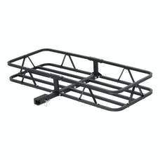 "CURT 18145 48"" x 20"" Basket-Style Cargo Carrier (Fixed 1-1/4"" Shank with 2"" Adapter)"