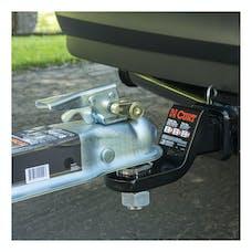 "CURT 23022 Coupler Lock (1/4"" Pin, 3/4"" Latch Span, Padlock, Brass-Plated)"