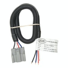 CURT 51435 Trailer Brake Controller Harness with Pigtails (Packaged)