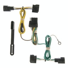 CURT 55363 Jeep Wrangler TJ Custom Wiring Harness (4-Way Flat Output)