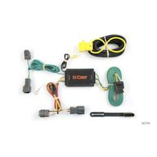 CURT 56104 Custom Wiring Harness (4-Way Flat Output)