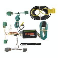 CURT 56119 Custom Wiring Harness (4-Way Flat Output)