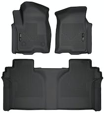 Husky Liners 94021 Weatherbeater Series Front & 2nd Seat Floor Liners