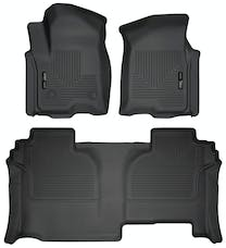 Husky Liners 94031 Weatherbeater Series Front & 2nd Seat Floor Liners
