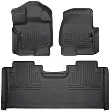 Husky Liners 94051 Weatherbeater Series Front & 2nd Seat Floor Liners