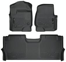 Husky Liners 94061 Weatherbeater Series Front & 2nd Seat Floor Liners