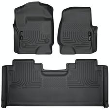 Husky Liners 94071 Weatherbeater Series Front & 2nd Seat Floor Liners