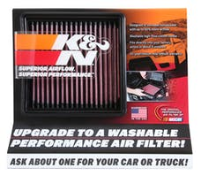 K&N 87-5038 Display; Small Air Filter