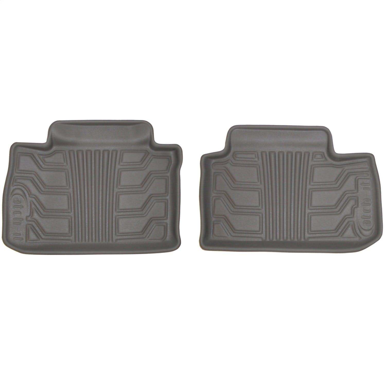 Set of 2 Lund 283043-G Catch-It Vinyl Grey Front Seat Floor Mat
