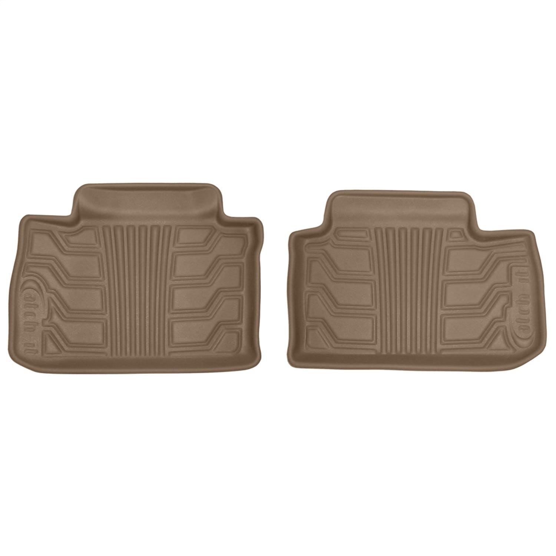 Set of 2 Lund 283117-T Catch-It Vinyl Tan Front Seat Floor Mat,