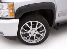 LUND RX128T Rivet Style Fender Flare Set - Front and Rear, Textured, 4-Piece Set RX-RIVET STYLE 4PC TEXTURED