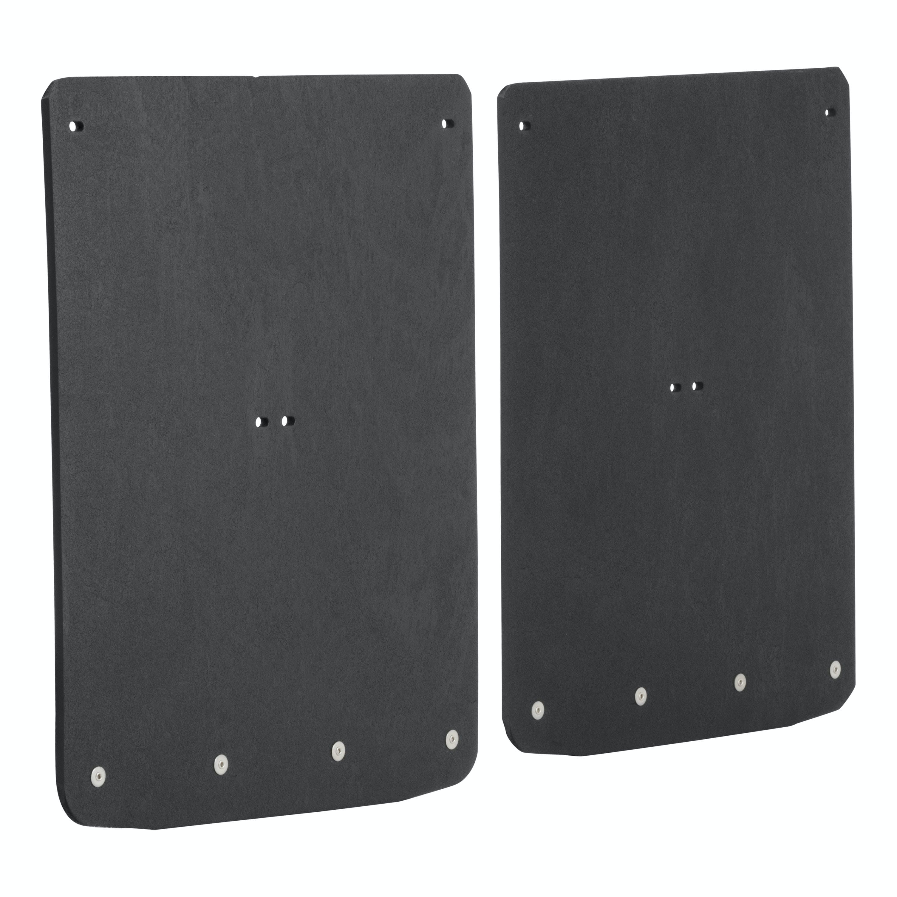 LUVERNE 251520 Front or Rear 12 x 20-Inch Textured Rubber Mud Guards Black 12 x 20 for for Select Ford F-150