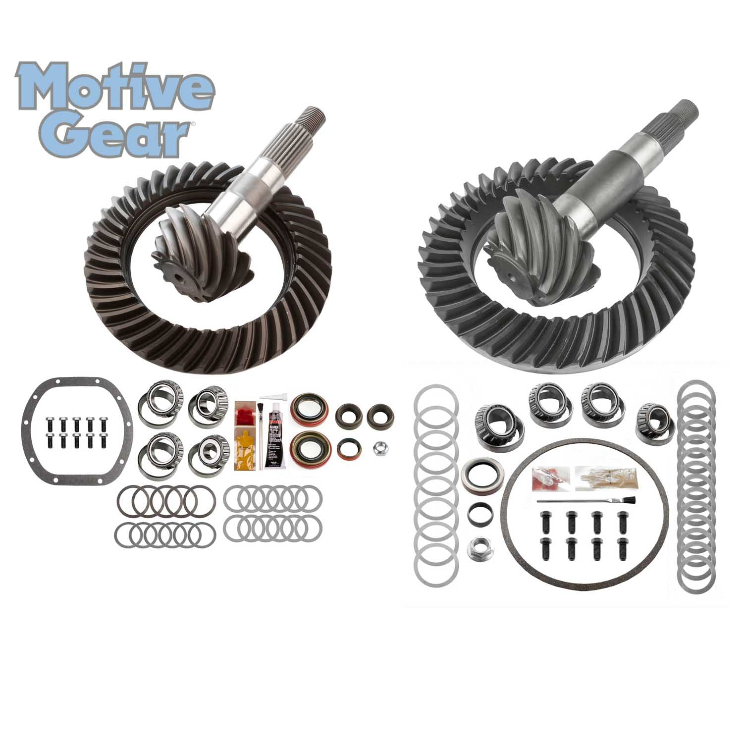 Motive Gear Performance Differential MGK-110 Motive Gear-Differential Complete Ring and Pinion Kit-Jeep TJ-Front and Rear Differential Ring and Pinon Front and Rear Complete Kit