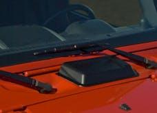 Outland Automotive 391135212 Cowl Vent Scoop, Black; 98-16 Jeep Wrangler TJ/JK
