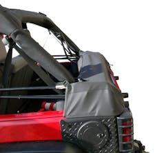 Outland Automotive 391210450 Soft Top Storage Boot, Black Diamond, 2-Door; 07-16 Jeep Wrangler JK