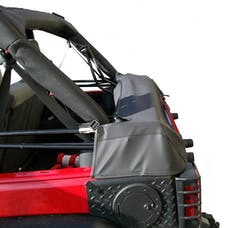 Outland Automotive 391210451 Soft Top Storage Boot, Black Diamond, 4-Door; 07-16 Jeep Wrangler JK