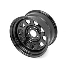 Outland Automotive 391550070 D Window Wheel, 17x9, Black, 5x5