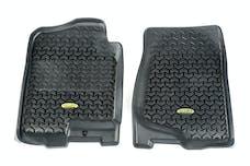 Outland Automotive 398290101 Floor Liners, Front, Black; 07-14 GM Fullsize Pickup/SUV