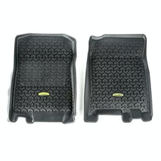Outland Automotive 398290204 Floor Liners, Front, Black; 97-03 F-150/Navigator