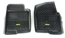 Outland Automotive 398290231 Floor Liners, Front, Black; 11-14 Ford F150