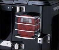 Euro Tail Light Guards 76-06 Wrangler CJ/YJ/TJ/LJ Stainless Steel Smittybilt 8460